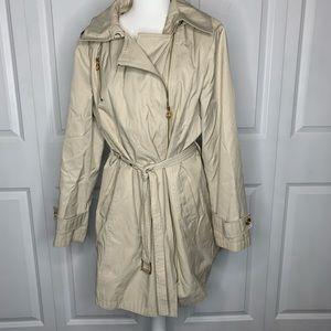 Tan Michael Kors Trench Coat